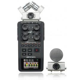 Zoom H6 recorder hordozható felvevő