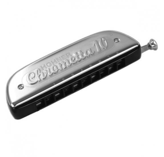 HOHNER M25301 Chrometta 10 C-dúr szájharmonika