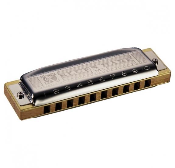 HOHNER M533056 Blues Harp E-dúr szájharmonika
