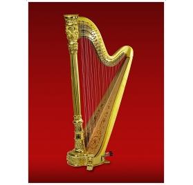 Horngacher Anniversary Harp 999 - pedálos hárfa