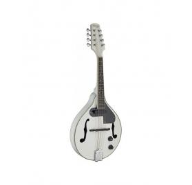 Stagg M50 E WH elektroakusztikus mandolin