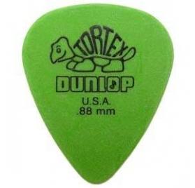 Dunlop 418P 0.88 Tortex Standard - zöld