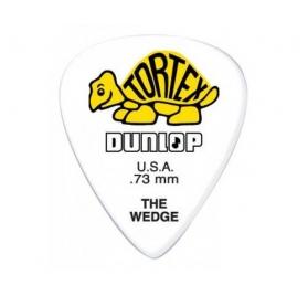 Dunlop 424P 0.73 Tortex Wedge - fehér