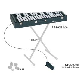 Studio 49 RGS/K/P300 hordozható harangjáték