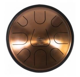 Zenko Equinox 9 hangos tongue drum + tartógyűrő, tok és ütő
