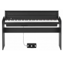 Korg LP180 BK/WH slim design digitális zongora - 88 billentyű