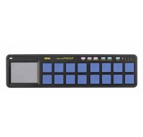 KORG NANOPAD2-BLYL Kompakt ütőpados USB MIDI-vezérlő - kék-sárga