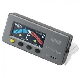 Korg SLIMPITCH mágneses kromatikus hangoló CM200 kontakt mikrofonnal