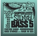 Ernie Ball 2850 Bass 5 Slinky Super Long Scale 45-130 basszusgitárhúr
