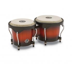 Latin Percussion Bongo City Series - Vintage sunburst matt