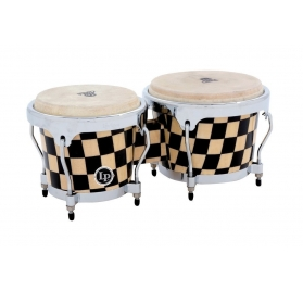 Latin Percussion Bongo Aspire Accent - Checkerboard