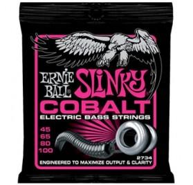 Ernie Ball Cobalt Bass Super Slinky 45-100 Basszusgitárhúr