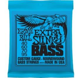 Ernie Ball Nickel Wound Bass Extra Slinky 40-95 Basszusgitárhúr