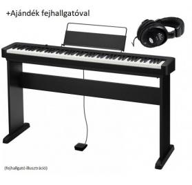 Casio CDP S100 BK digitális zongora állvánnyal és fejhallgatóval