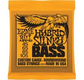 Ernie Ball Nickel Wound Bass Hybrid Slinky 45-105 Basszusgitárhúr