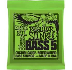 Ernie Ball Nickel Wound Bass Reg. S. 5 Húr 45-130 Basszusgitárhúr