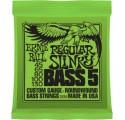 Ernie Ball Nickel Wound Bass Regular Slinky 5/45-130 basszusgitár húrkészlet