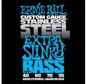 Ernie Ball Stainless Steel Extra Slinky 40-95 Basszusgitárhúr