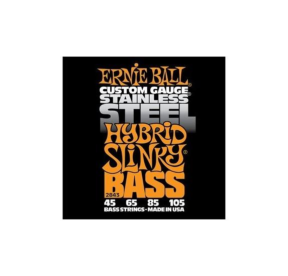 Ernie Ball Stainless Steel Hybrid Slinky 45-105 Basszusgitárhúr