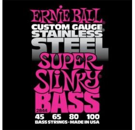 Ernie Ball Stainless Steel Super Slinky 45-100 Basszusgitárhúr