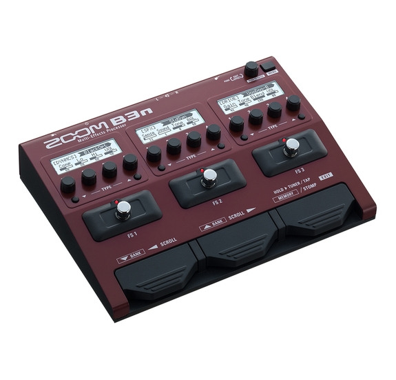Zoom B3N basszusgitár multieffekt
