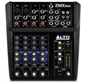 Alto Professional ZMX862 6 csatornás analóg keverőpult
