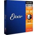 Elixir Electric NANOWEB Custom Light elektromos gitár húrkészlet 009-046