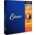 Elixir Electric NANOWEB Super Light elektromos gitár húrkészlet 009-042