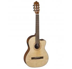 La Mancha Rubinito LSM/63-CEN elektroakusztikus klasszikus gitár (7/8)