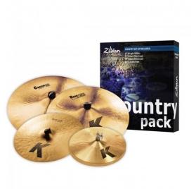 "Zildjian K Country Pack 15""H,17""-19""C,20""CR"