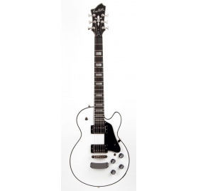 HAGSTROM E-Guitar, Super Swede, White