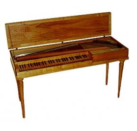 Silbermann klavikord FF-f 3