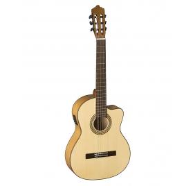 La Mancha Perla Ambar S-CE (4/4) elektro-klasszikus gitár