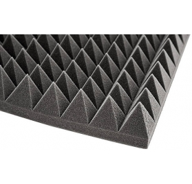 Audiotec Pyramids Fire Retardant 7cm akusztikai panel