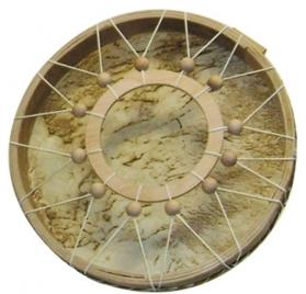 Sámándob gyűrű fogóval - 40cm