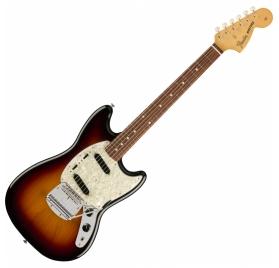 Fender Vintera '60s Mustang PF 3-Color Sunburst elektromos gitár