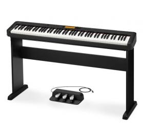 Casio CDP-S350 BK digitális zongora CS-46 állvánnyal és SP-34 3-as pedállal