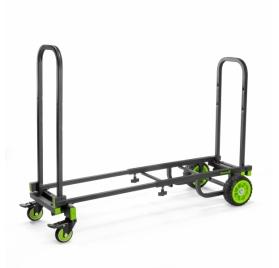 Gravity szállító kocsi – többfunkciós 8 az 1-ben konfiguráció, 150 kg terhelhetőség, fekete