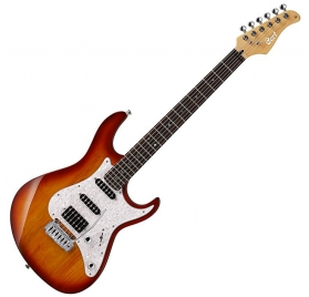 Cort Co-G250-TAB electric guitar - sunburst