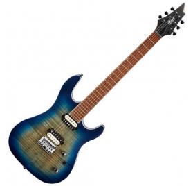 Cort Co-KX300-OPCB elektromos gitár - Kobaltkék Burst