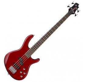 Cort Co-ActionPlus-TR aktív basszusgitár - áttetsző vörös
