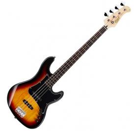 Cort Co-GB34JJ-3TS aktív basszusgitár - Sunburst