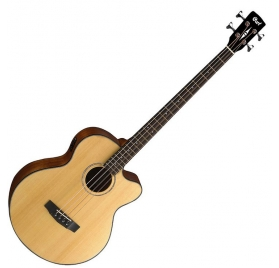 Cort Co-AB850F-NAT acoustic bassguitar with bag