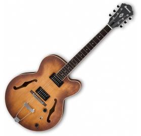 Ibanez AF55 Hollow Body Tobacco Flat elektromos gitár