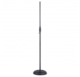 Soundsation SMICS-500-BK Microphone stand with heavy cast iron base