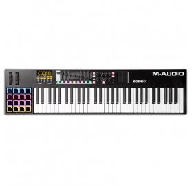 M-Audio Code 61 Black USB MIDI kontroller billentyűzet