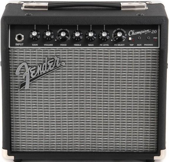 Fender Champion 20 tranzisztoros gitárkombó - 20 Watt