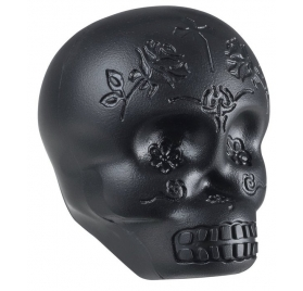 LATIN PERCUSSION SHAKER - SUGAR SKULL BLACK