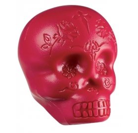 LATIN PERCUSSION SHAKER - SUGAR SKULL RED