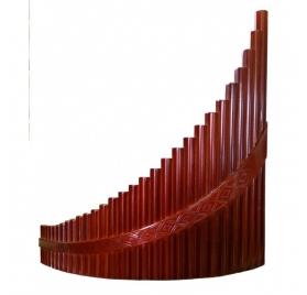HORA 29 sípos - contrabass g-g4 pánsíp mahagóni szín